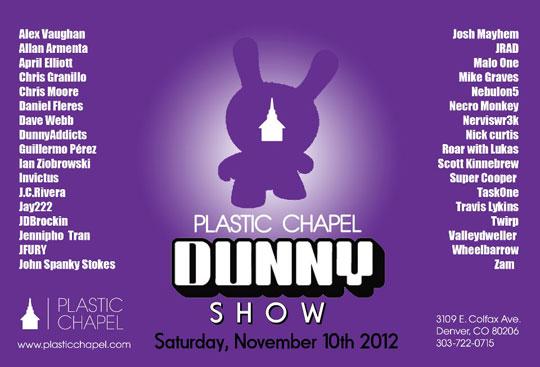 Plastic Chapel Dunny Show alarment