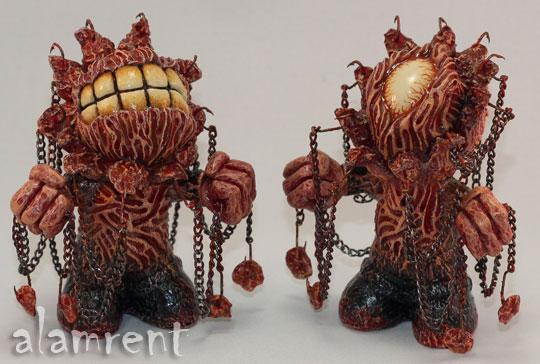 Cenobots alarment Murmur Eyesore Kidrobot mascots