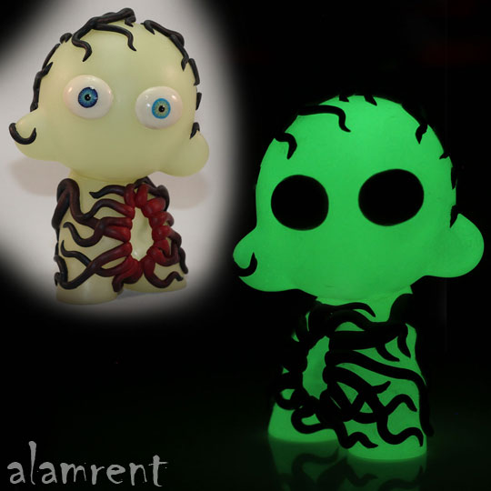 Glow in the Dark Mini Munny alarment