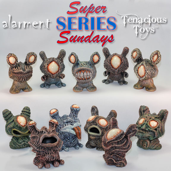 alarment Creatures and Companions Dunny series