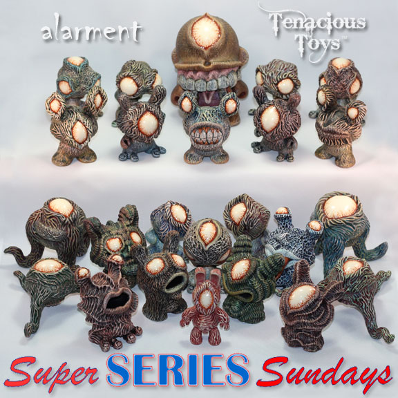 alarment Creatures and Companions Dunny series with Mini Munny