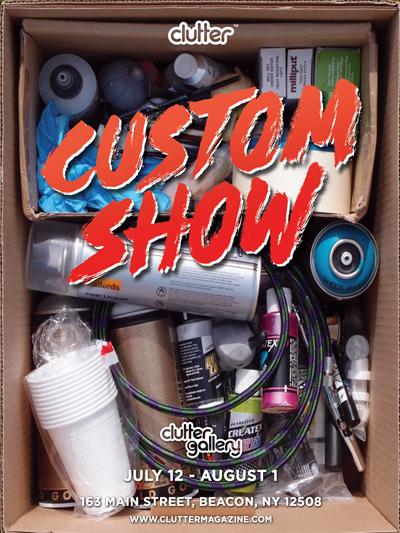 alarment clutter custom show flyer