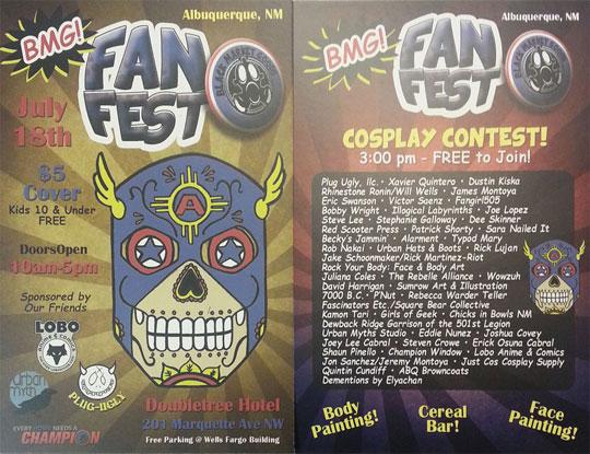 alarment BMG Fan Fest Flyer
