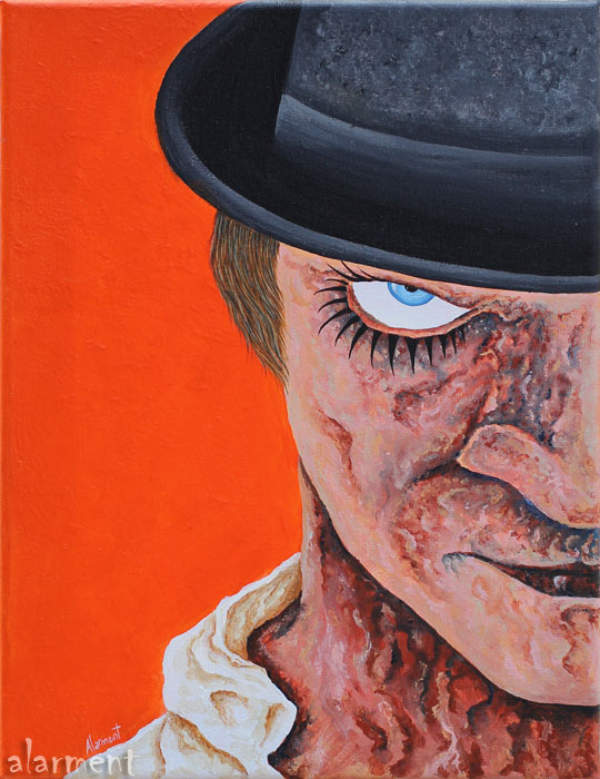 alarment Alex clockwork orange